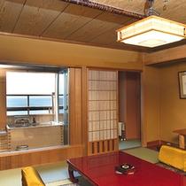 露天風呂付客室 『秋桜』 一例