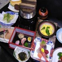 【2階銀坐】 夜のコースメニュー「卯月のコース料理」
