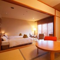 【木もれび離れ館】スイートルーム/和室8畳・ガーデンテラス付