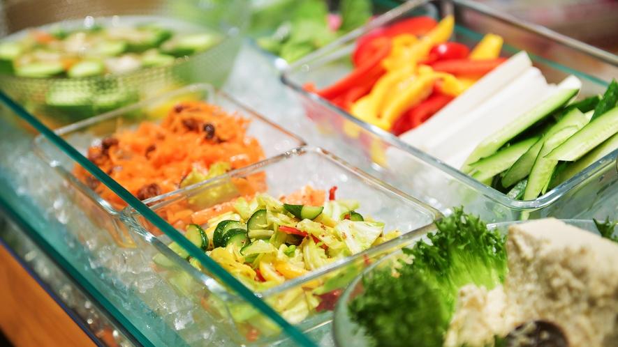 新鮮な蔵王高原野菜たっぷり