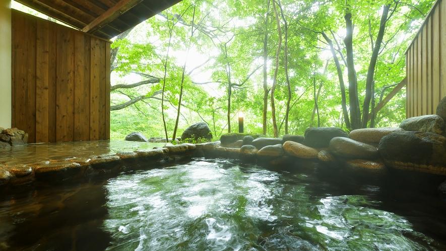 露天風呂付き貸切風呂 rindo<林道>とkamoshika<かもしか>