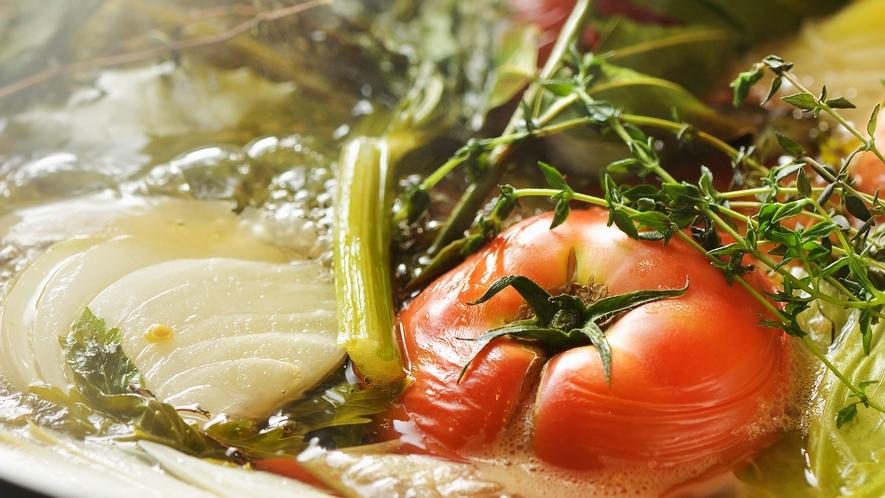 Breakfast|野菜たっぷりの食べるスープ