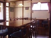 ユースホステル食堂・談話室