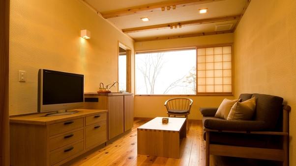 【温泉付和洋室】母屋から遠い部屋(約300歩/45平米)