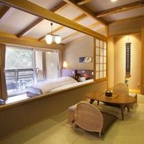 和洋室一例(花の蔵・木の蔵)