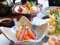 【お料理・お造り・酢の物・揚げ物】春の一例
