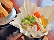 【お料理・台の物と釜飯】春の一例