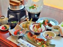 【お料理・全景】春の一例