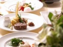 【本館25階マンハッタンテーブル】ディナーコース一例♪美味しいお料理を楽しんで!