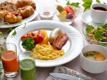 【本館3階バロン】洋定食一例 洋食派にはアメリカンブレックファースト