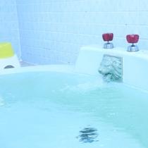 お風呂の様子。温泉ではありませんがゆっくりお入り頂けます。