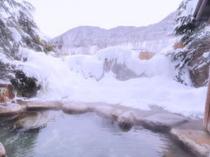 貸切風呂冬