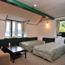 海側客室202号室(デラックスルーム)