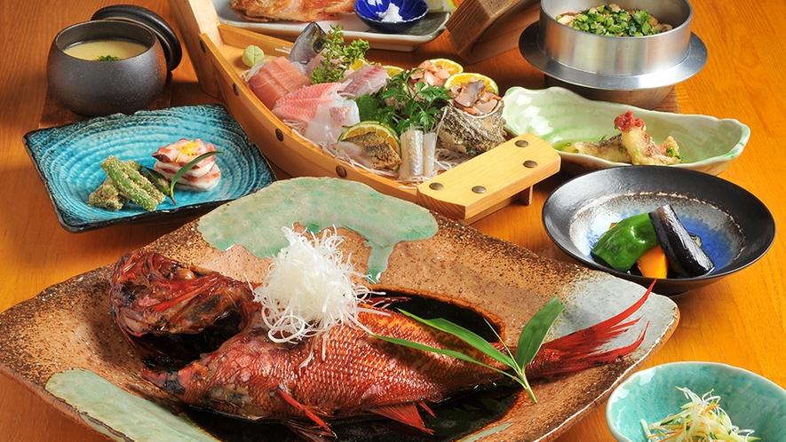 金目鯛の煮付コース