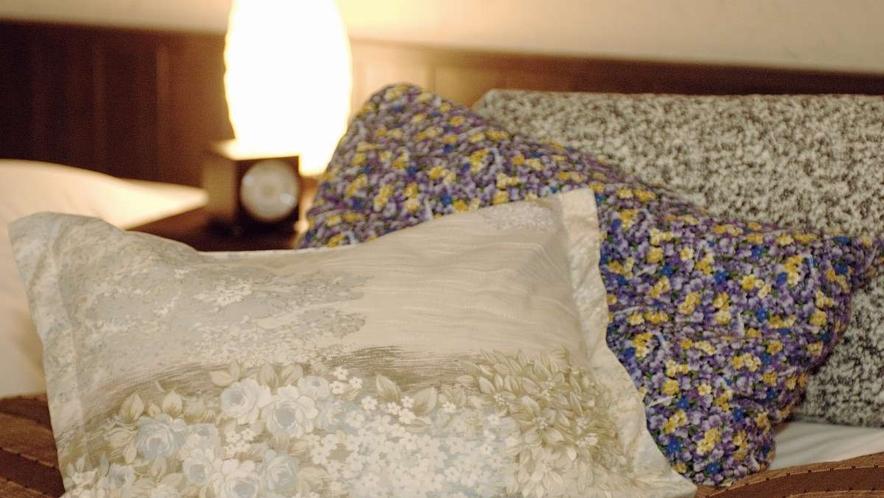 安眠コーナー■豊富な種類からお好みの枕をお選びいただけます(数量限定)