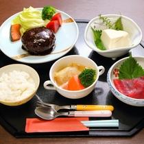 *お夕食一例/群馬で採れた食材を使ったお子様料理です。