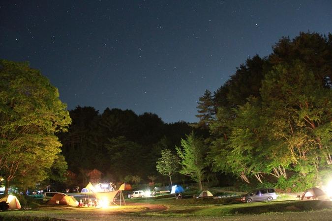 星の降る森