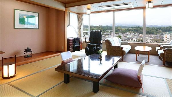 特別室(12畳和室+ツインルーム )眺望川側