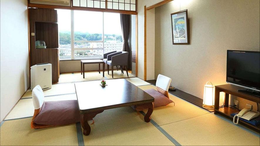 【A】高層階川側和室
