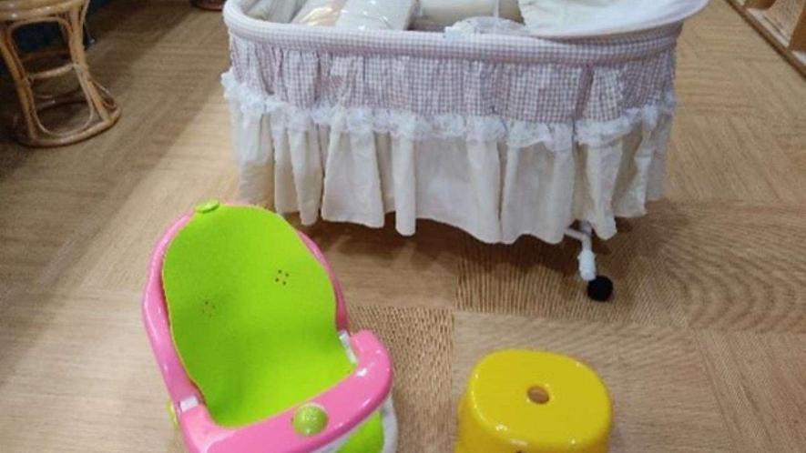大浴場備品/バンボ・子供用風呂椅子・ベビーベッド