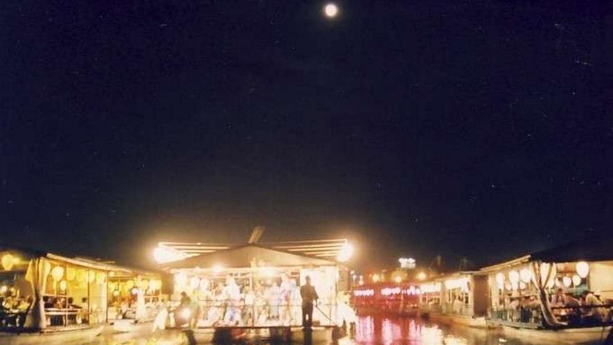 日田温泉 観月祭
