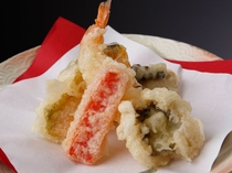遠州灘天然はもと野菜の天ぷら盛り合わせ(イメージ)