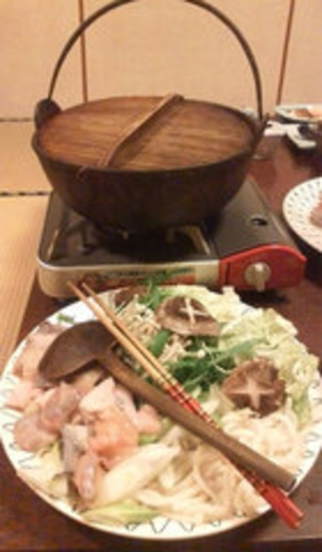 食事例(あんこう鍋)