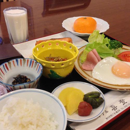 【朝食】和定食の朝食メニュー