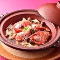 ◯金目鯛荒鍋