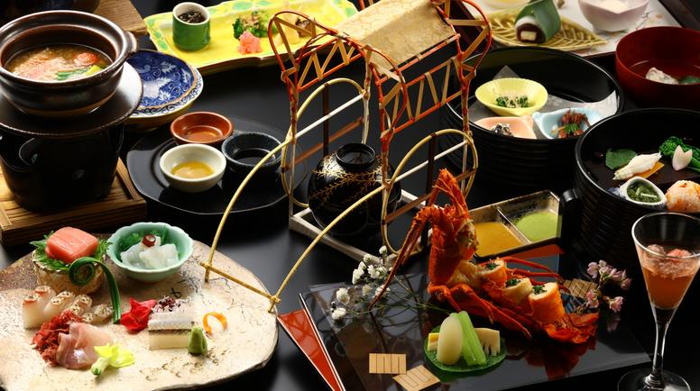 【2021春の献立】ご夕食一例/春の味覚を存分にご堪能くださいませ