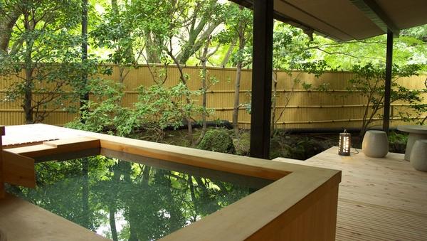 和洋室露天風呂付き客室:70平米(檜風呂)◆禁煙◆