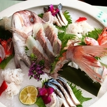 鯛姿造り祝盛り
