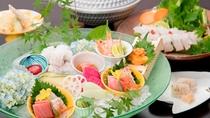 【夏期限定・鱧会席一例】夏限定の味覚「鱧」を贅沢に用いた会席コースになります。