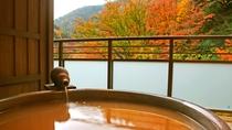 【金泉露天風呂付・特別室】1室限定・紅葉露天風呂をお楽しみいただける最上階のお部屋です。