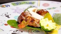【秋期限定・松茸料理一例】焼き松茸・焼きあがる香りもまた楽しみのひとつです