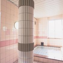 1日の疲れを癒してくれる女性大浴場/例