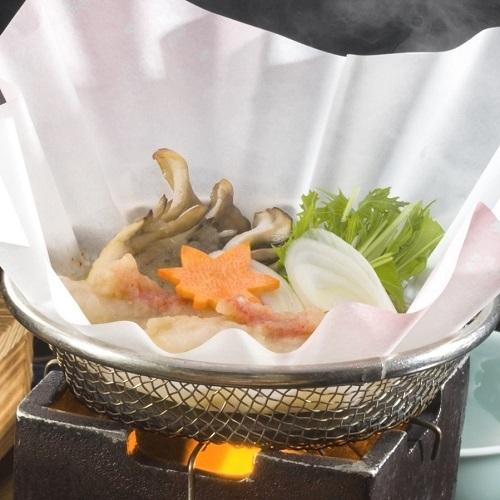 【秋の味覚】金目鯛の揚げ出しおろし鍋