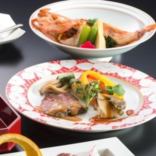 4品仕上げ 魚・肉料理