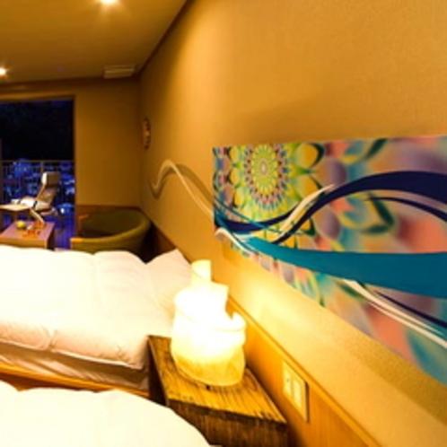 【天風の息吹】源泉かけ流し露天風呂付客室(2)