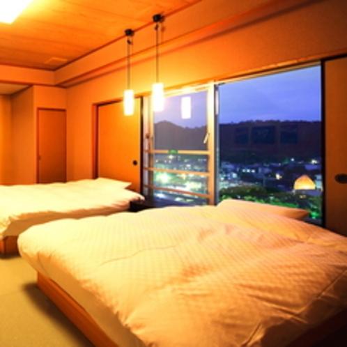 【天窓の庵(いおり)-和ベッド】ぐんじょうの空(2)