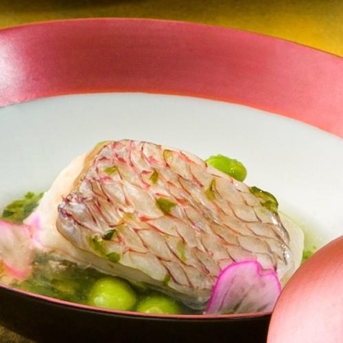 【春の味覚】桜鯛の東寺蒸し