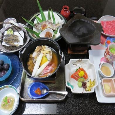 【風林火山の旅】 山県家のおもてなしー山梨食材会席膳ー