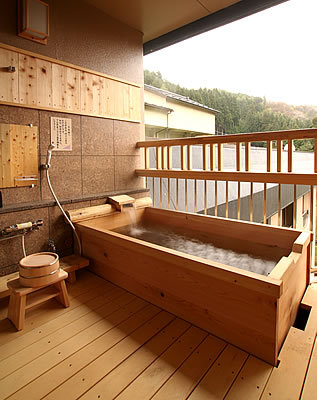 露天風呂・名月の間
