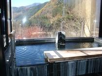 貸切風呂「絶景之湯」内風呂