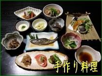 手作り料理の画像