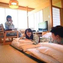 *滞在イメージ/3人でも広々使える和室20畳のお部屋。