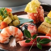 *【和(なごみ)膳/料理一例】季節や仕入状況に合わせて、料理内容は変更されます。