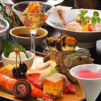 *【雅(みやび)膳/料理一例】季節や仕入状況に合わせて、料理内容は変更されます。