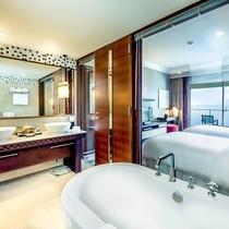 【スイートルーム】バスルーム