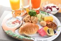朝食盛り付け例(お子様用)